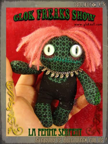la Femme Serpent - GLOK Freaks Show