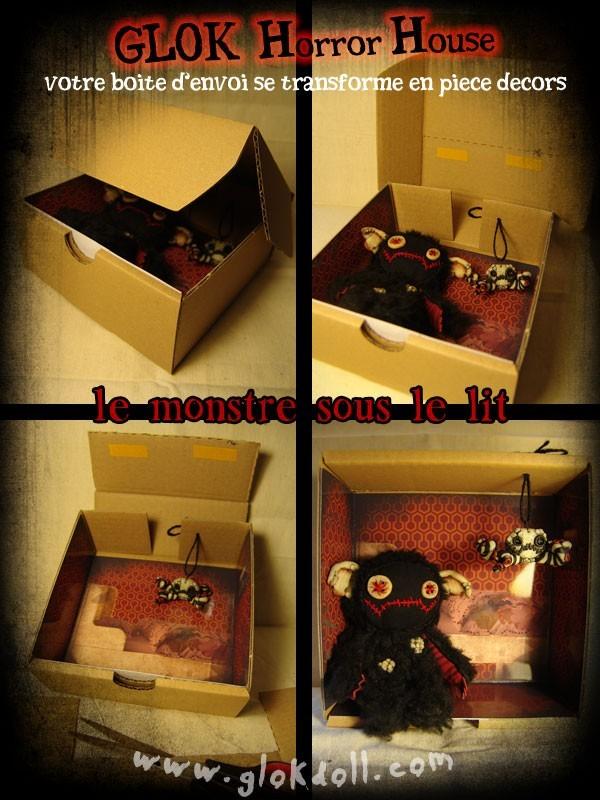 glok horror house le monstre sous le lit. Black Bedroom Furniture Sets. Home Design Ideas