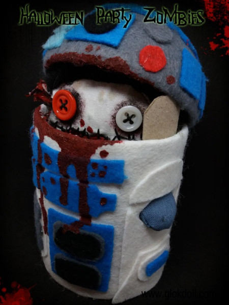 R2D2, Halloween Party Zombies