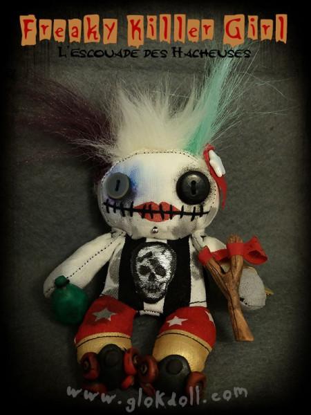 Freaky Killer Girl - L'Escouade des Hacheuses