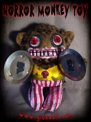 Horror Monkey Toy