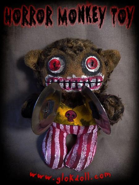 Horror Monkey Toy