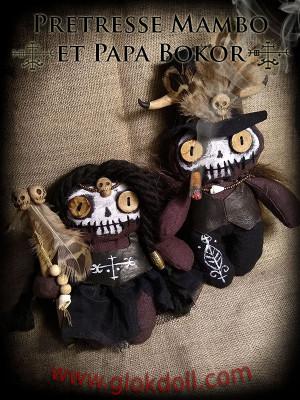 Papa Bokor et Prêtresse Mambo
